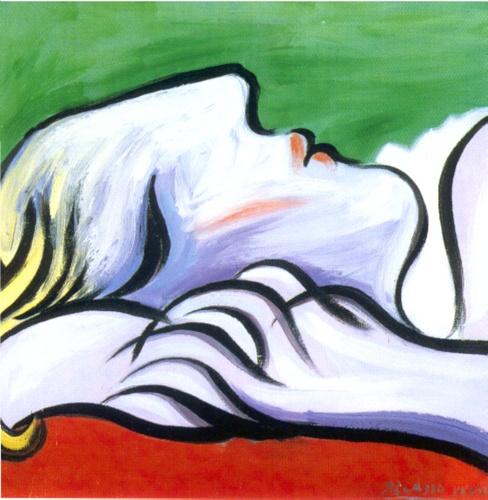 Endormi par Pablo Picasso