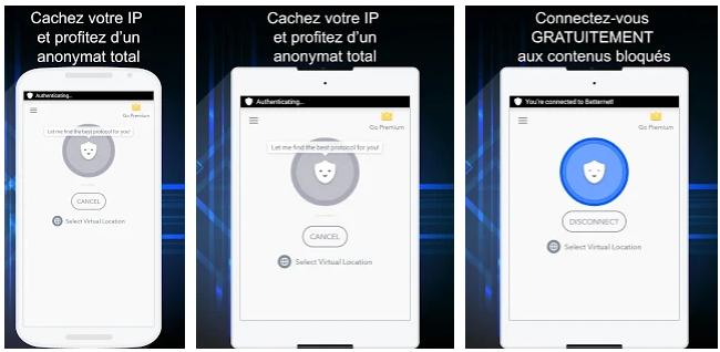 Betternet VPN, Meilleurs VPN pour ANDROID
