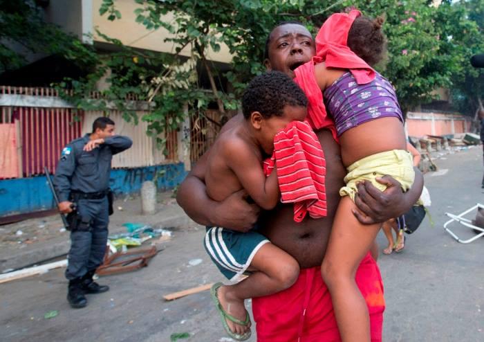 Brutalité de la force de police du Brésil