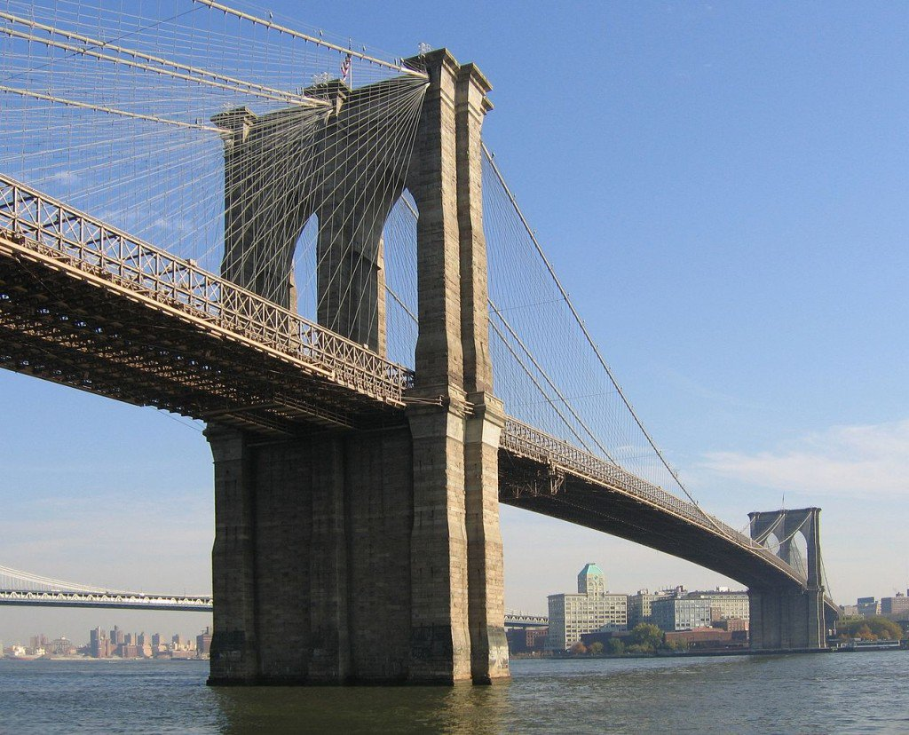 Les ponts les plus célèbres du monde: Brooklyn Bridge, New York