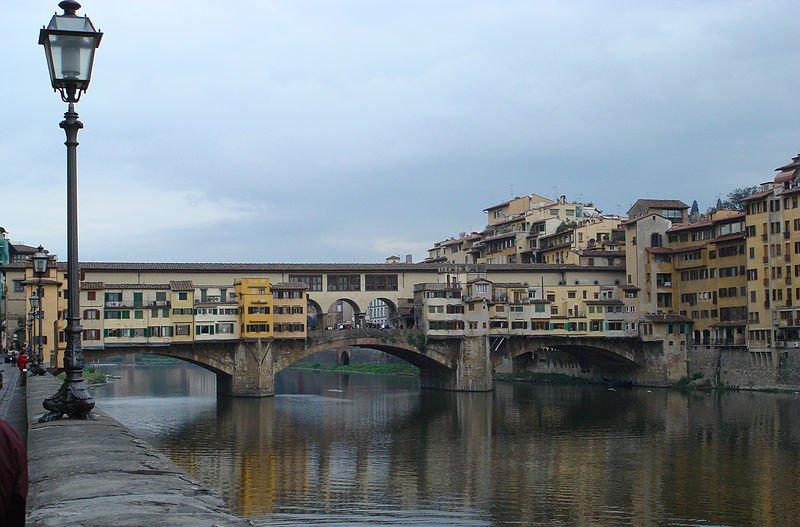 Les ponts les plus célèbres du monde: Ponte Vecchio, Florence, Italie