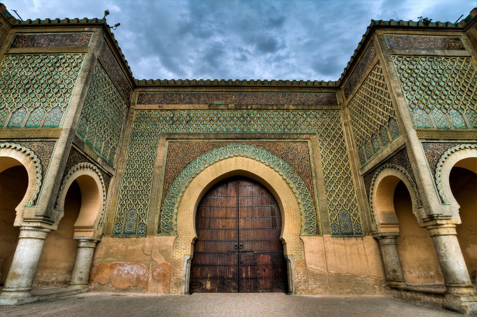 Meknes Bab Mansour Gate, Meknes