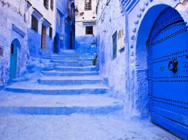 Rues Blanches, Chefchaouen