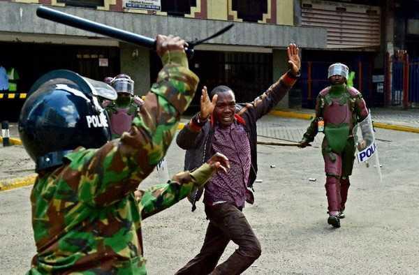 La brutalité policière en Kenya