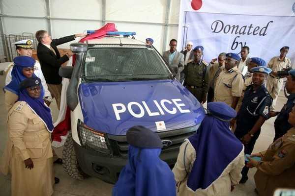 Force de police somalienne