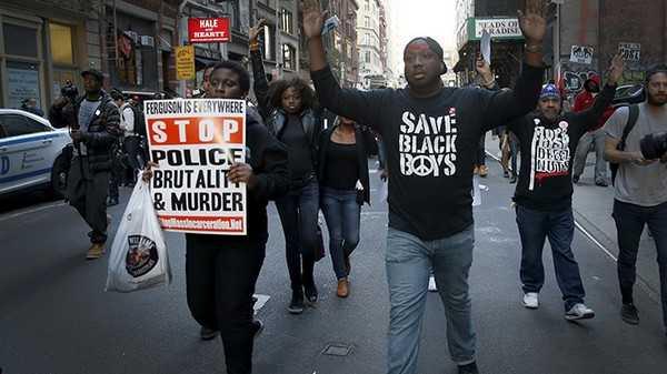USA brutalité policière