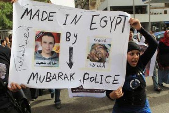 Brutalité de la police égyptienne