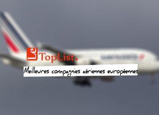 Les 10 meilleures compagnies aériennes européennes