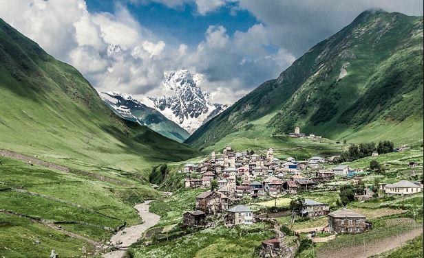 Le plus beau sommet de la colline Villages en France