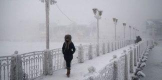Les endroits les plus froids du monde