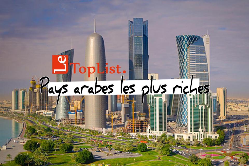Top 10 Pays Arabes Les Plus Riches En 2019 Mis A Jour