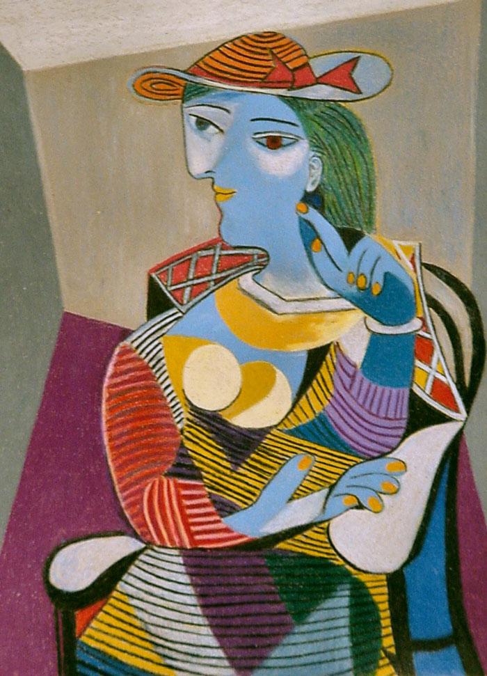 Femme assise (Marie-Thérèse) Par Pablo Picasso