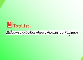 Six meilleurs application alternatif auPlaystore 2018