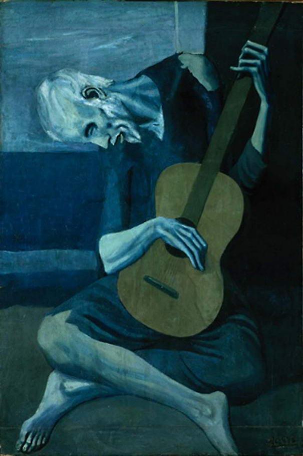Le vieux guitariste