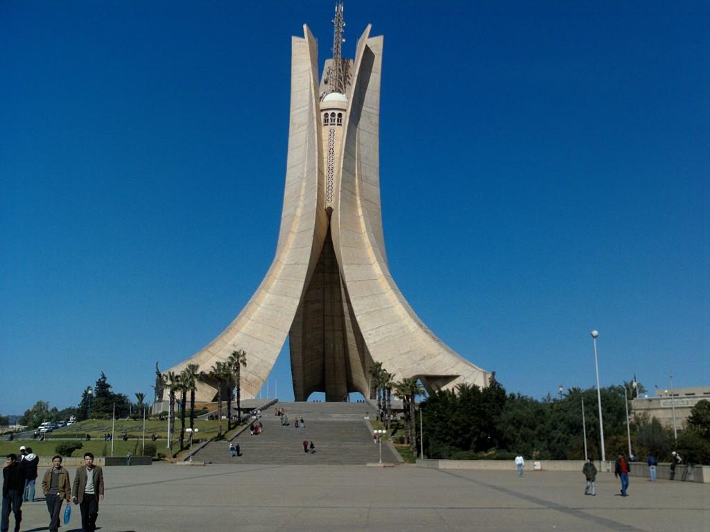 Le Monument des Martyrs à Alger