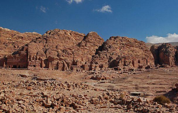 Vue générale de Petra