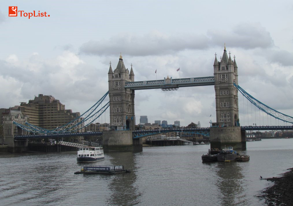 Les ponts les plus célèbres du monde: Tower Bridge, Londres