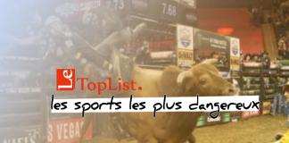les 10 sports les plus dangereux