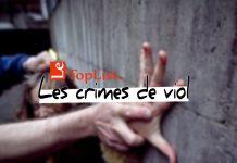 liste des 10 premiers pays ayant le plus grand nombre de crimes de viol