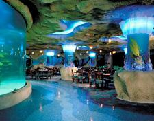 Restaurant d'aquarium