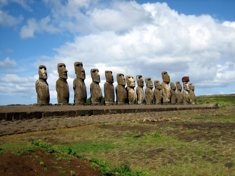 Statues les plus célèbres Statues les plus célèbres: Moai, île de Pâques