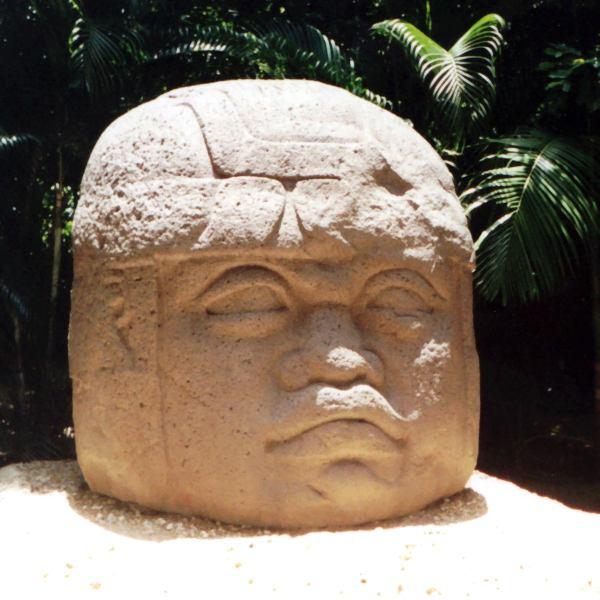 Statues les plus célèbres Têtes colossales Olmec, Mexique