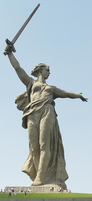 La plus grande statue non religieuse du monde - Les appels de la mère patrie