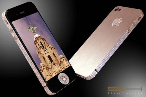 Diamond Rose iPhone 4 32 Go, 8 millions $