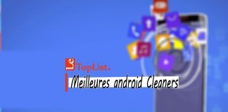 Meilleures android Cleaners 2018