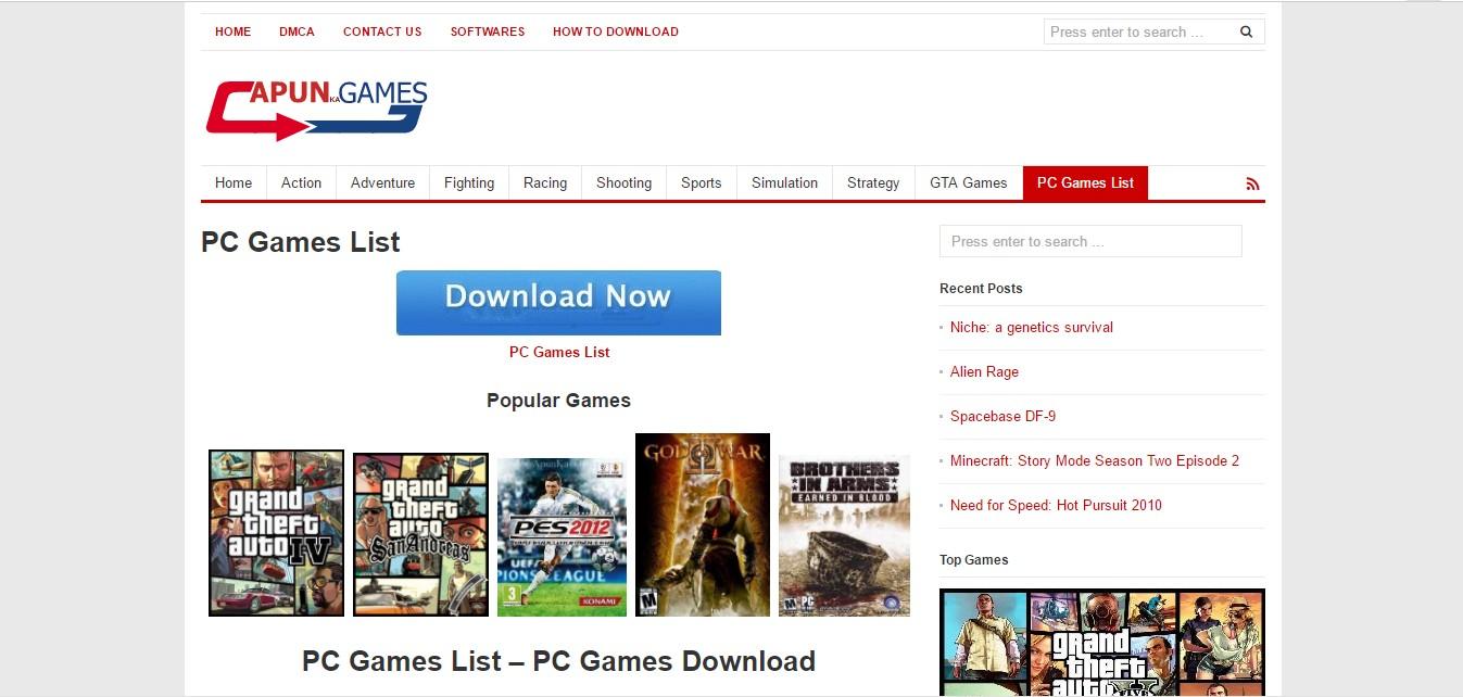 Télécharger jeux PC gratuitement