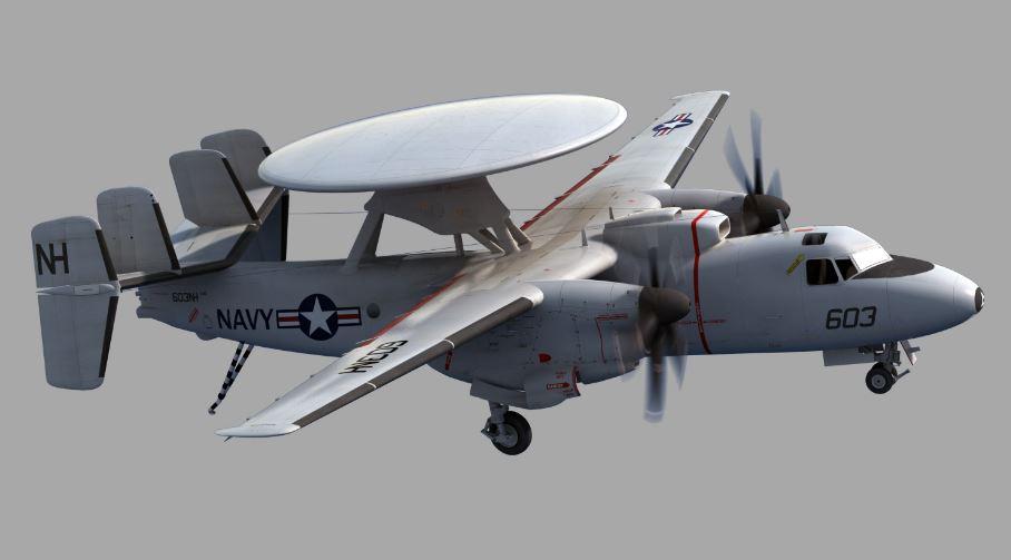 e-2d-avancé-hawkeye-top-le-plus-célèbre-cher-militaire-avions-2018