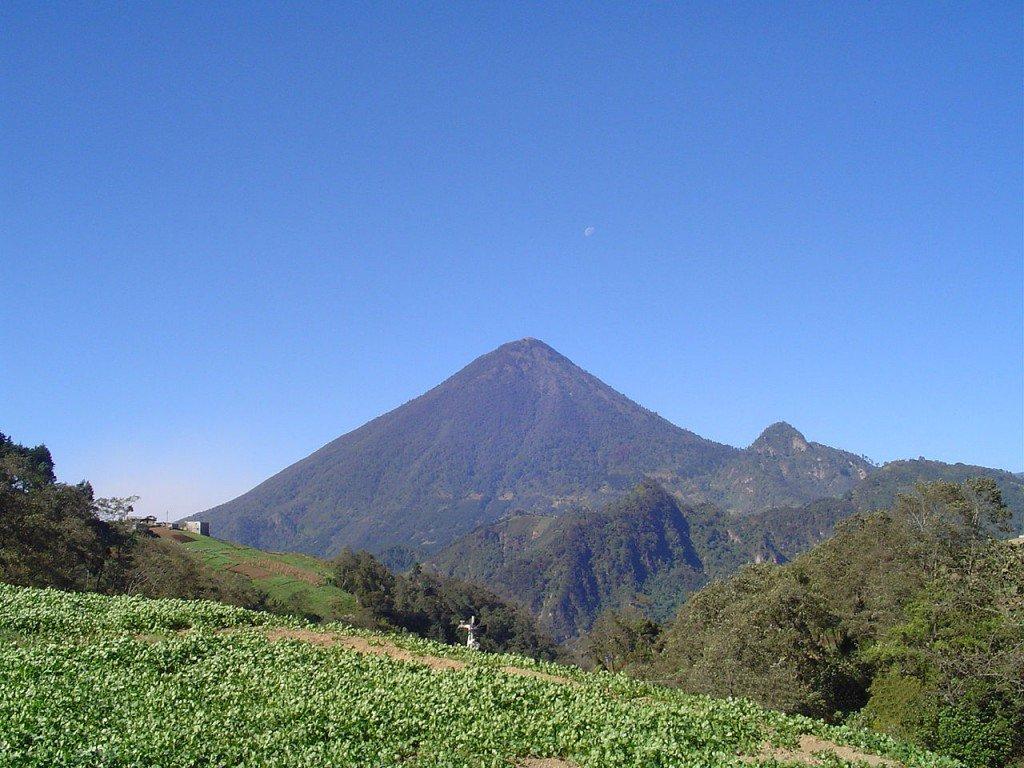 10 volcans les plus actifs dans le monde: Santa Maria, Guatemala