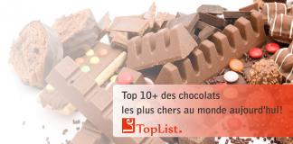 Top 12 chocolats les plus chers au monde