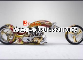 10 motos les plus chers au monde