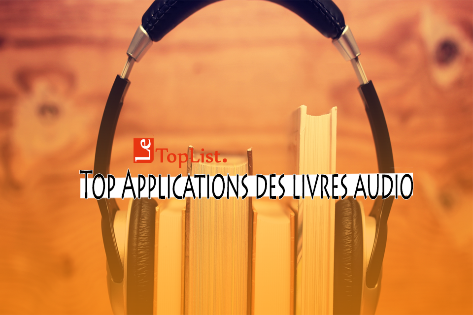 applications des livres audio