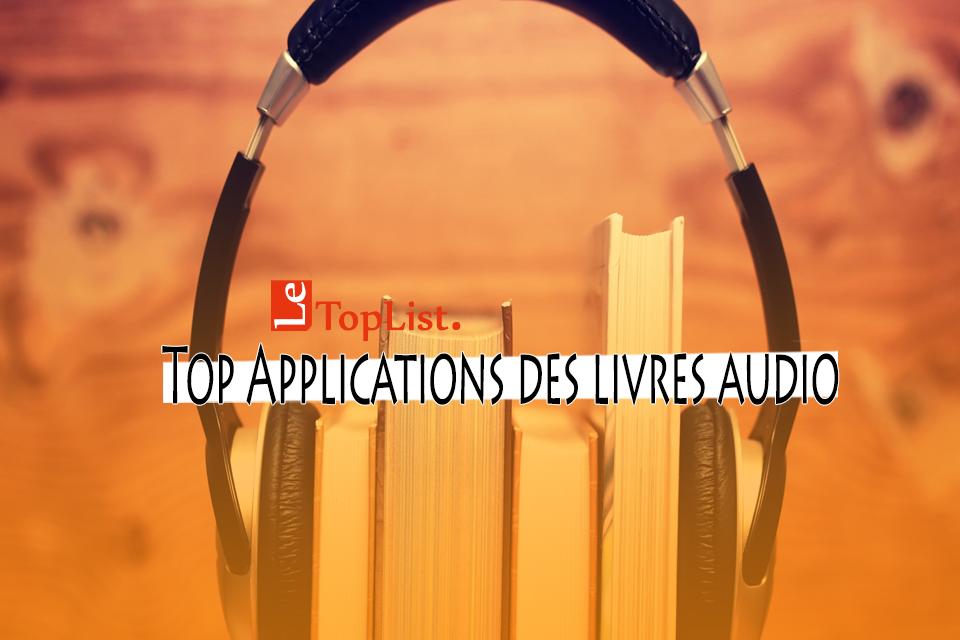 applications des livres audio