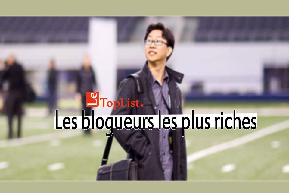blogueurs les plus riches