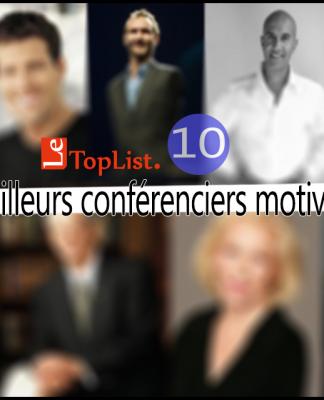 meilleurs conférenciers motivateurs