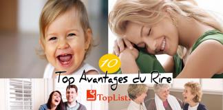 Top 10 avantages du rire