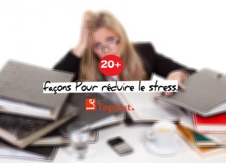 Top 20+ façons ultimes Pour se détendre et de réduire le stress.