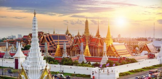 Grand Palais Bangkok.