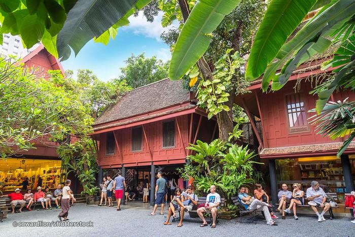 Maison Jim Thompson à Bangkok (img; shutterstock)