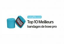 Top 10 Meilleurs bandages de boxe pro en 2018.