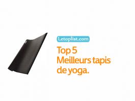 Top 5 Meilleurs tapis de yoga