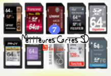 Top 7 Meilleures Cartes SD