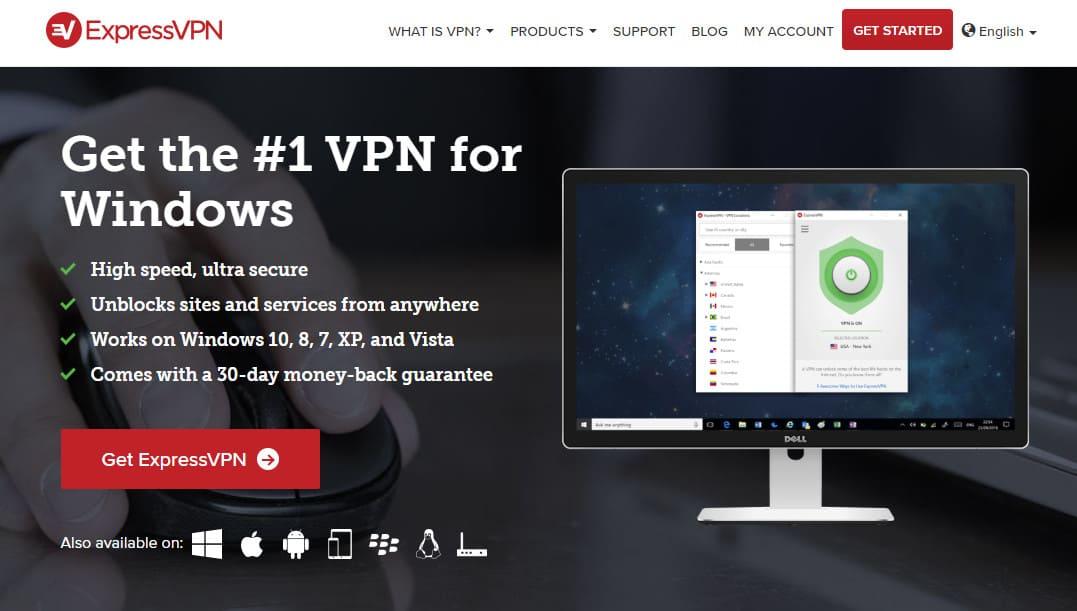 meilleurs VPN pour Windows