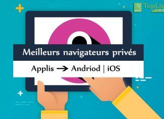 Top 8 Meilleures applications de navigation privée pour Android et iOS.