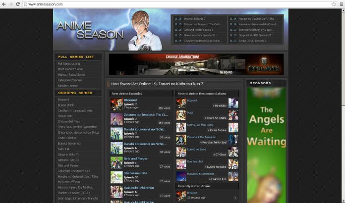 sites de Streaming d'anime