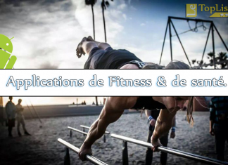 applications de Fitness et de santé