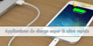 applications de charge super et ultra rapide
